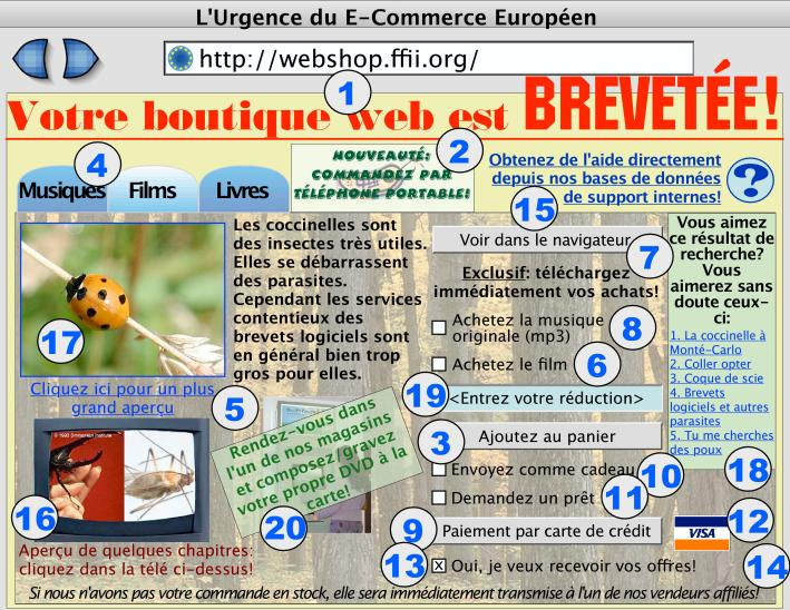 Boutique web brevet�e
